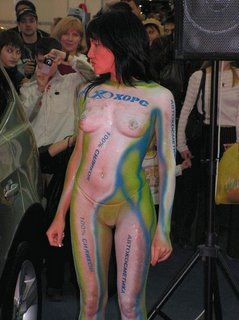 Body Art aus Russland