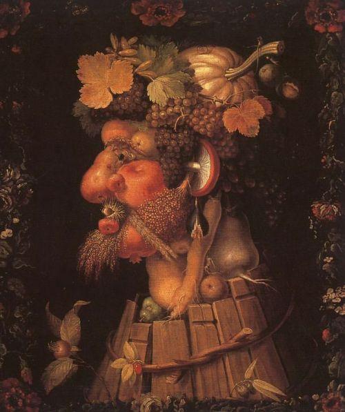 Der Herbst von Giuseppe Arcimboldo